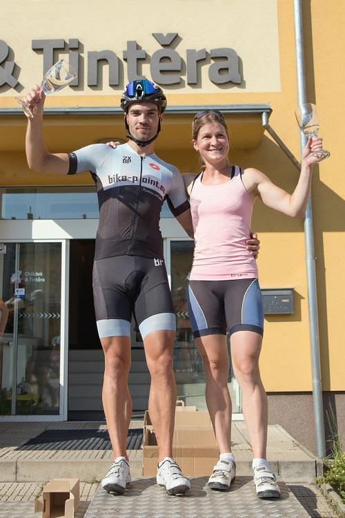 Celkoví vítězové Babin 2020 - Jakub Špaček a Petra Hendrychová (foto R.Stibinger)