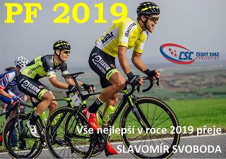 Český svaz cyklistiky Pf 2019